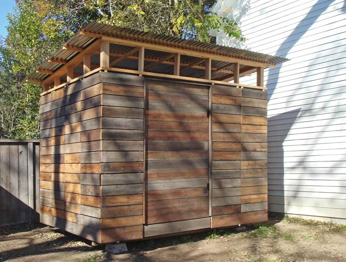 A Wooden Shed with Plenty of Space #shed #garden #decorhomeideas