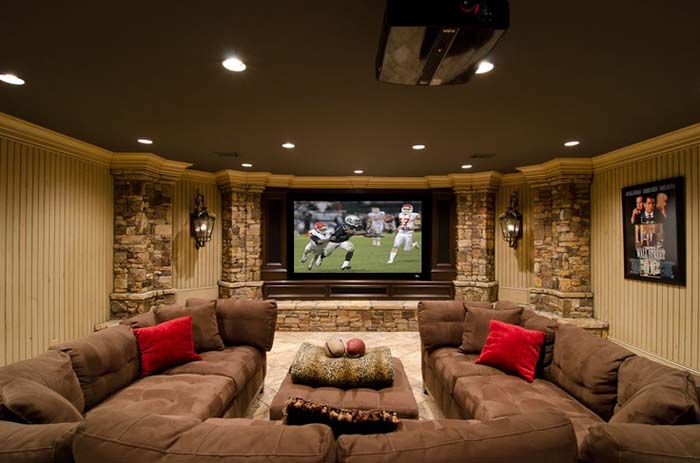 Casual with Comfort #mancave #decorhomeideas