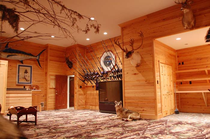Design Inspired by Nature #mancave #decorhomeideas