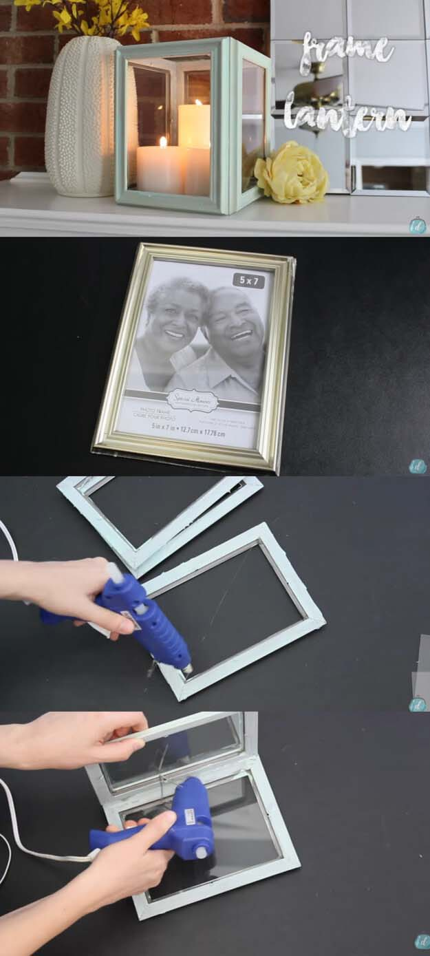 From Cheap Frames to Chic Candle Cube #diy #weekendproject #decorhomeideas