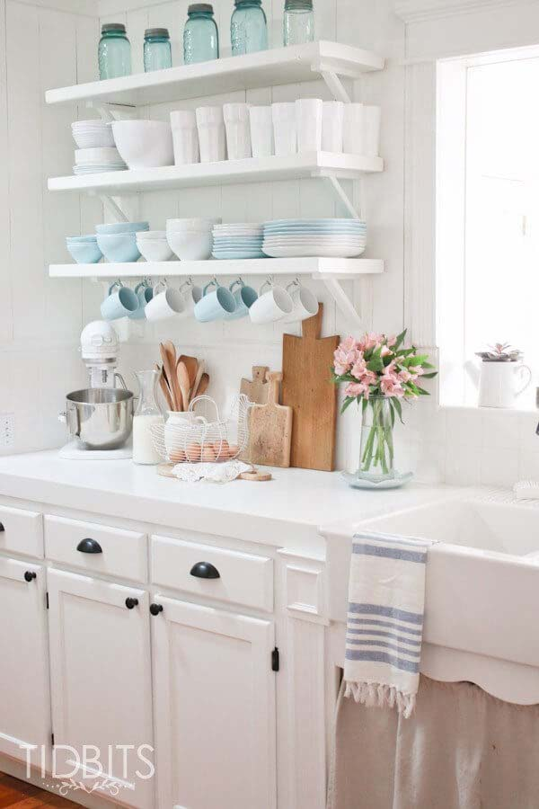 Let There Be Light Cottage Kitchen #cottage #kitchen #decorhomeideas