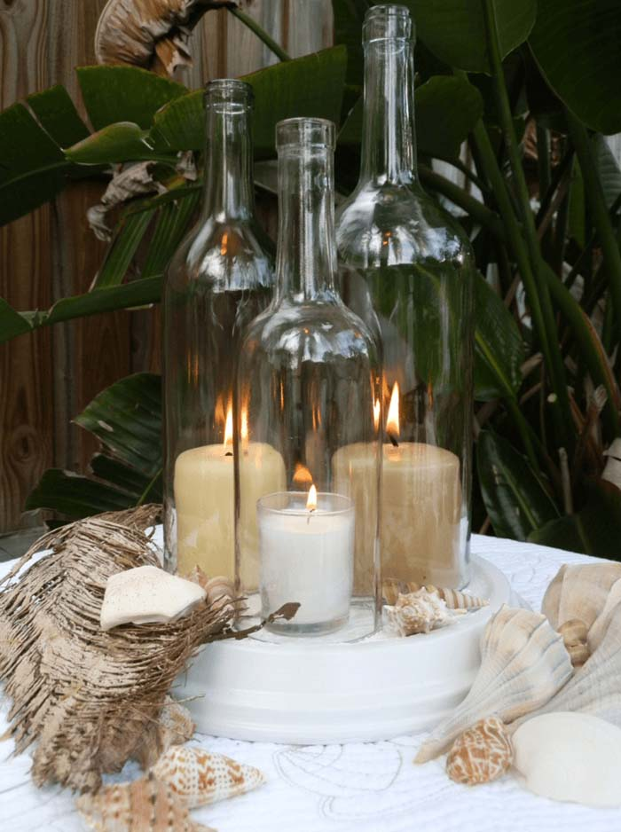 Neutral Colors and Glass for a Perfect Lighting Palette #lighting #yard #outdoor #decorhomeideas