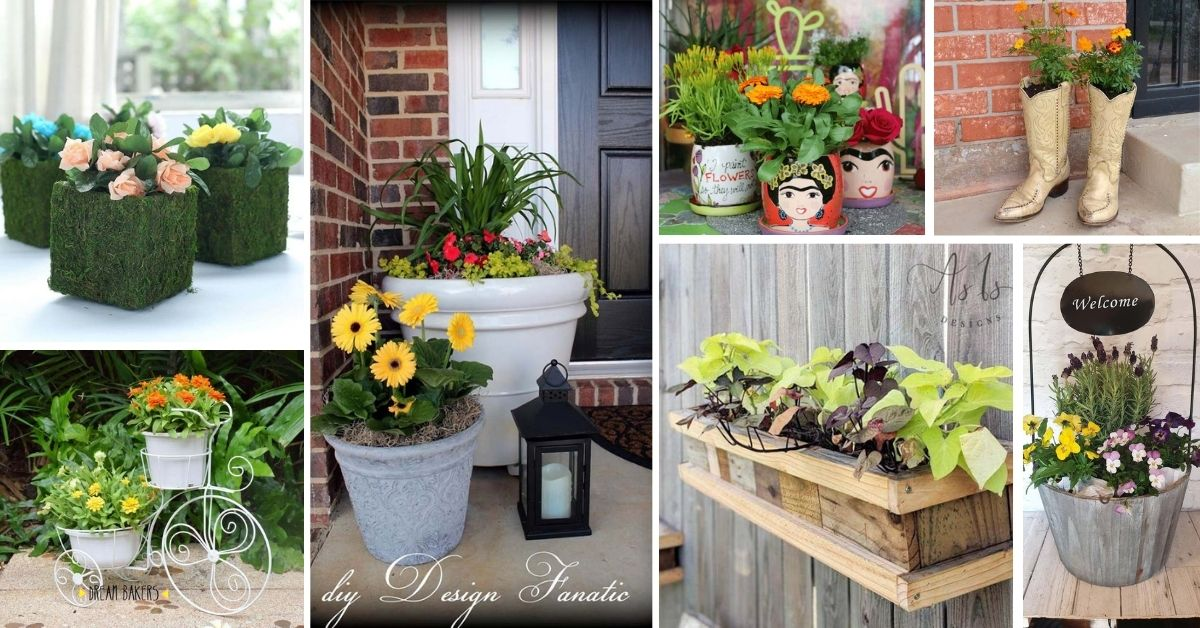 Spring Planter Ideas