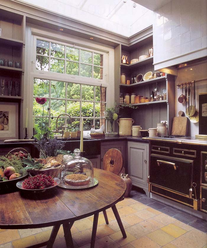 The Perfect Cottage Kitchen View #cottage #kitchen #decorhomeideas