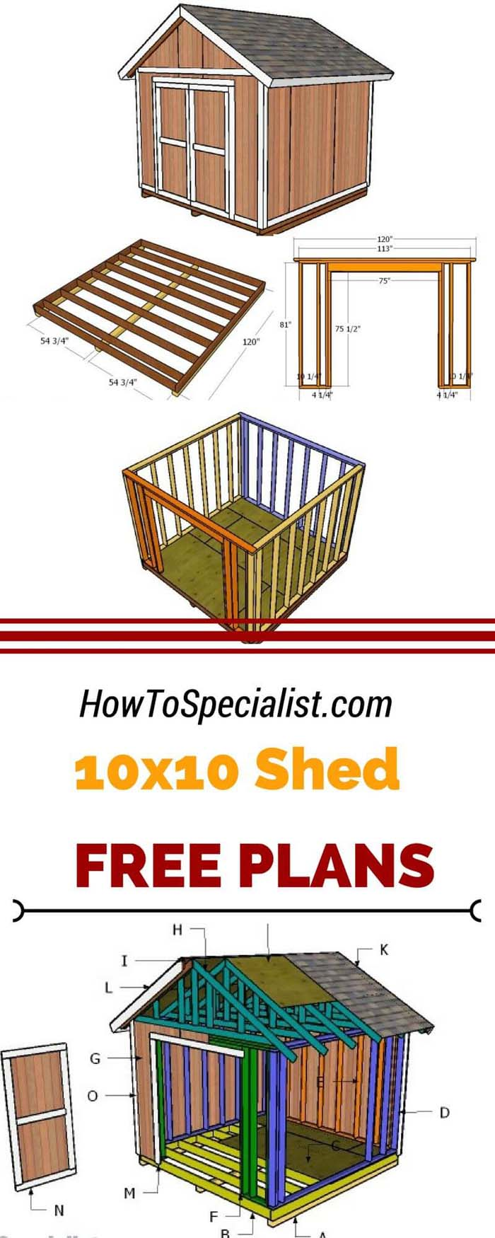 Unique 10×10 Small Storage Shed Projects #shed #garden #decorhomeideas