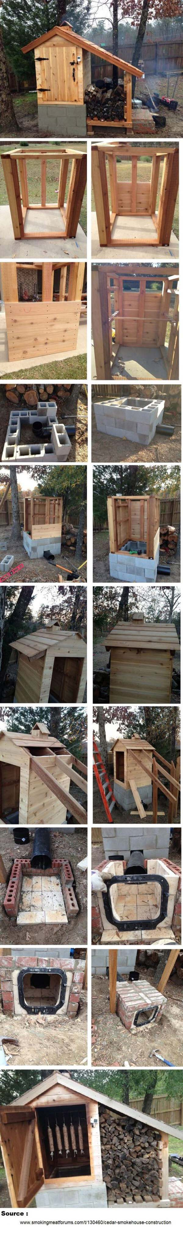 Unique Wood Storing Ideas for the Winter #shed #garden #decorhomeideas