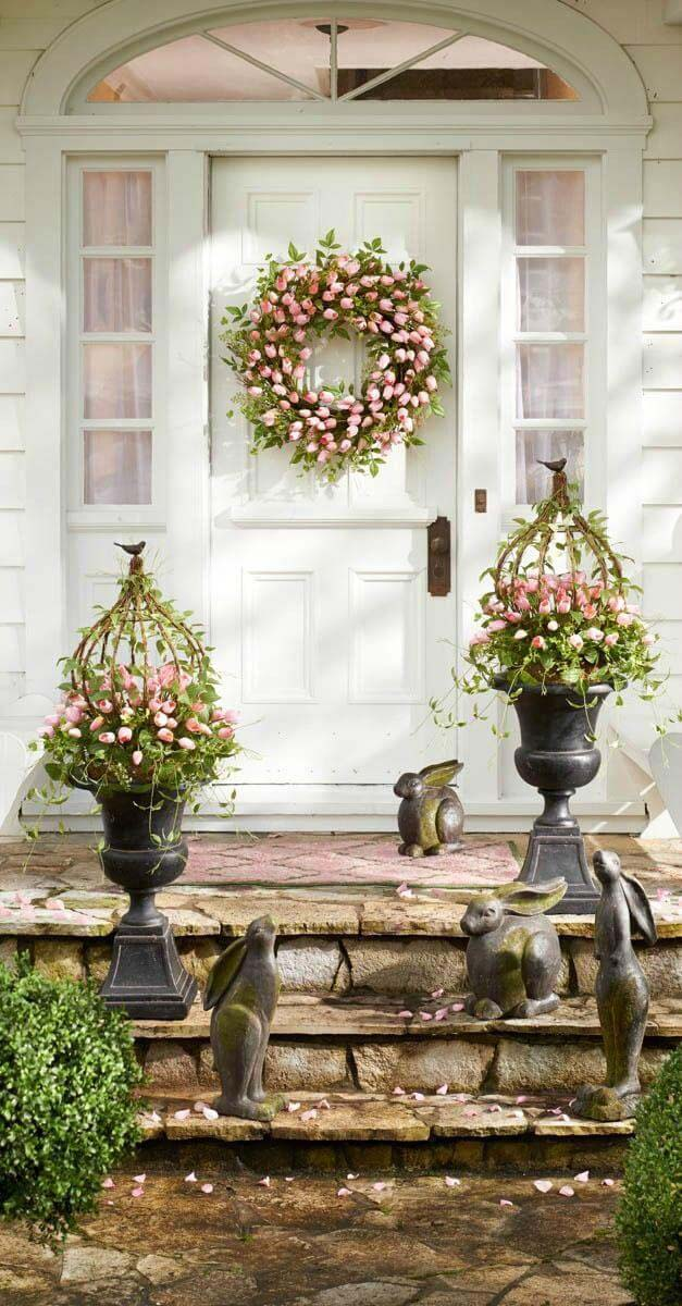 Use Plants to Create an Inviting Entryway #spring #decor #decorhomeideas