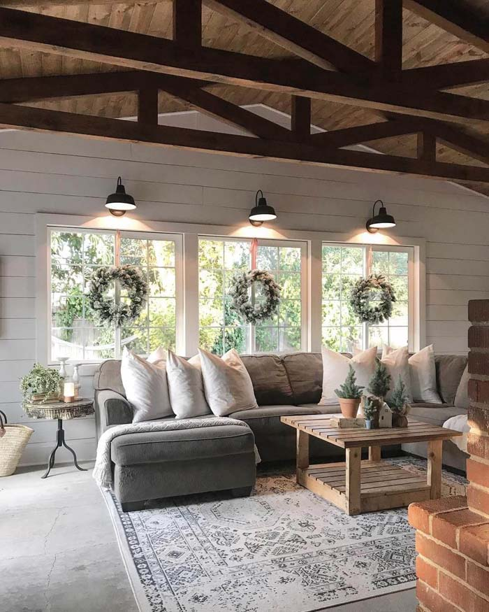 Why It's Called a Great Room #farmhouse #design #decorhomeideas
