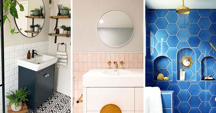 25 Shower Tile Ideas For Small Bathrooms
