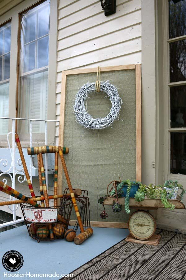 All Fun and Games Corner Collection #rustic #porch #vintage #decorhomeideas