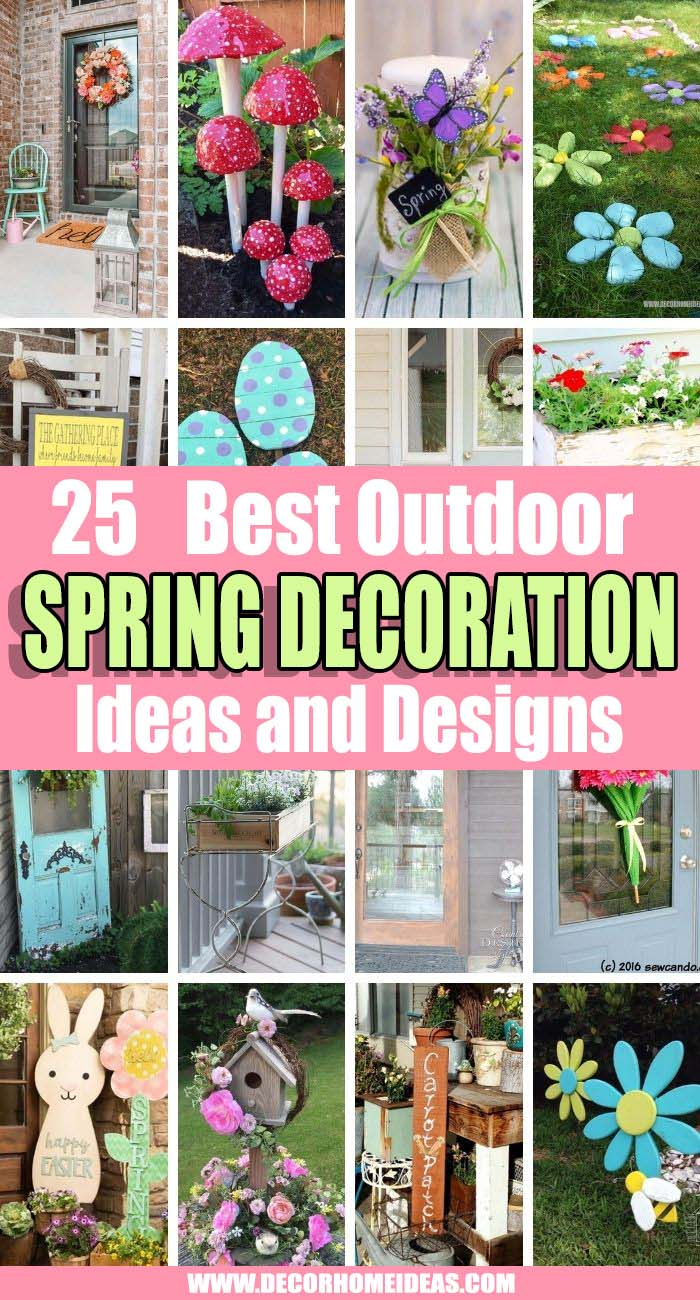 Best Outdoor Spring Decoration Ideas