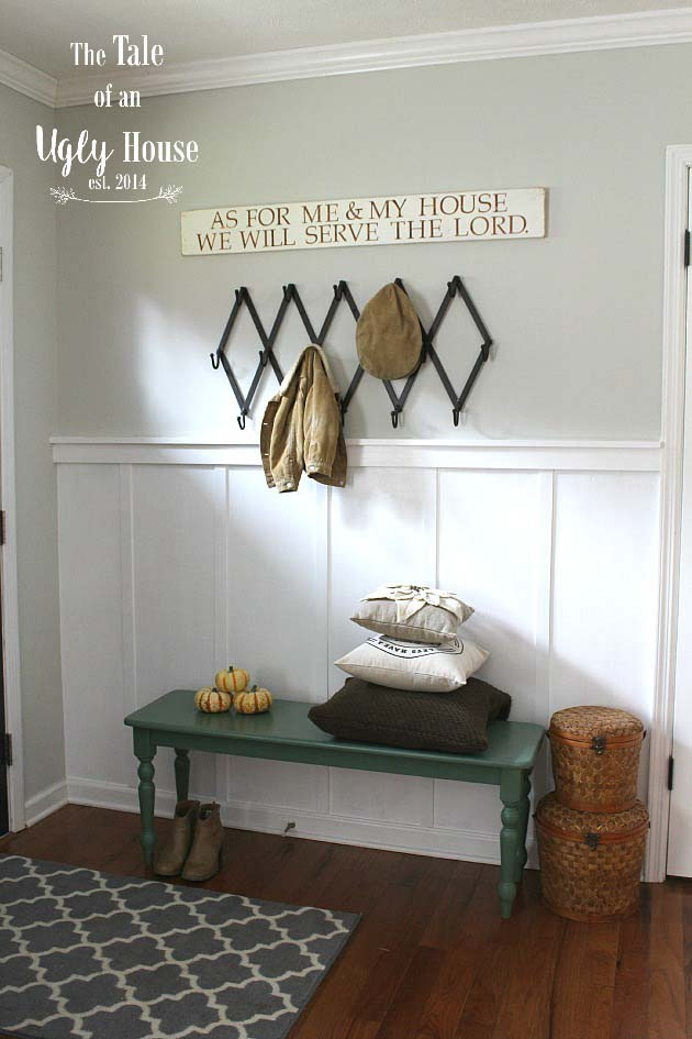 Entryway Bench Makeover