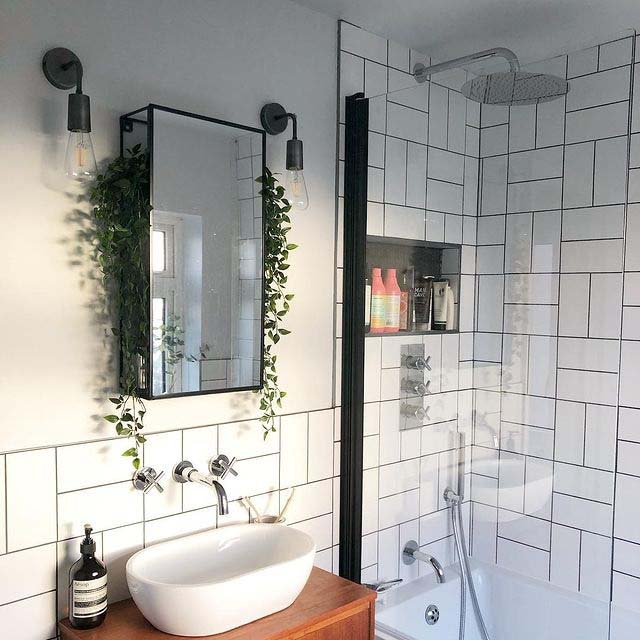Experiment With Different Orientation #showertile #bathroom #decorhomeideas