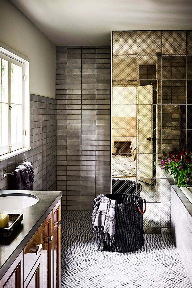 Go Bold With Colors #showertile #bathroom #decorhomeideas