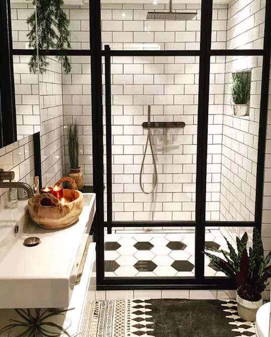 Stretch-Bond Pattern for Classic Appeal #showertile #bathroom #decorhomeideas