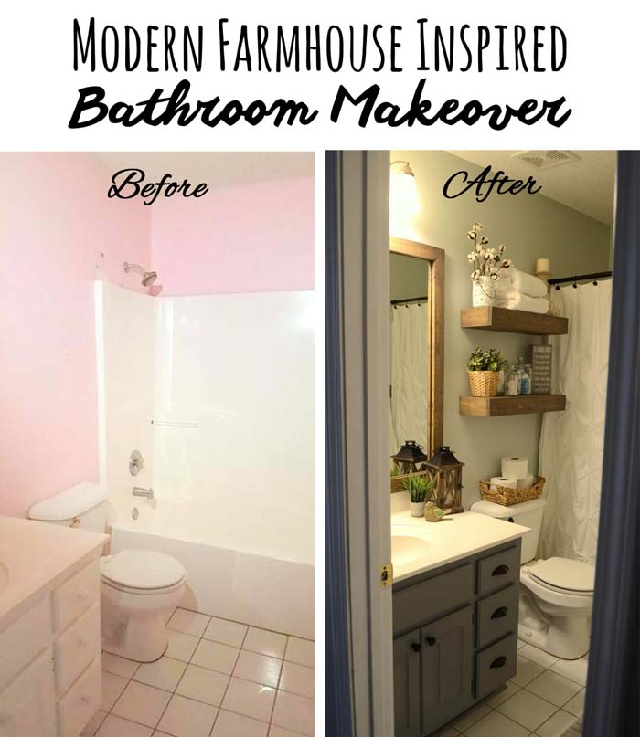 Choose a theme to Add Character #bathroom #makeover #decorhomeideas
