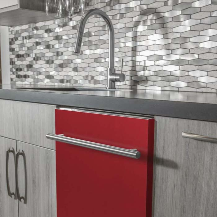 Colorful Series Integrated Dishwasher #kitchen #appliances #decorhomeideas