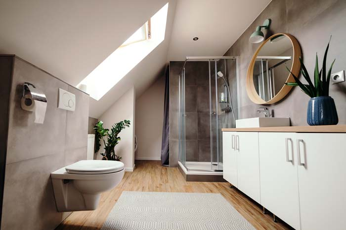 Match The Color Of Your Walls And Ceiling #tricks #smallbathroom #decorhomeideas