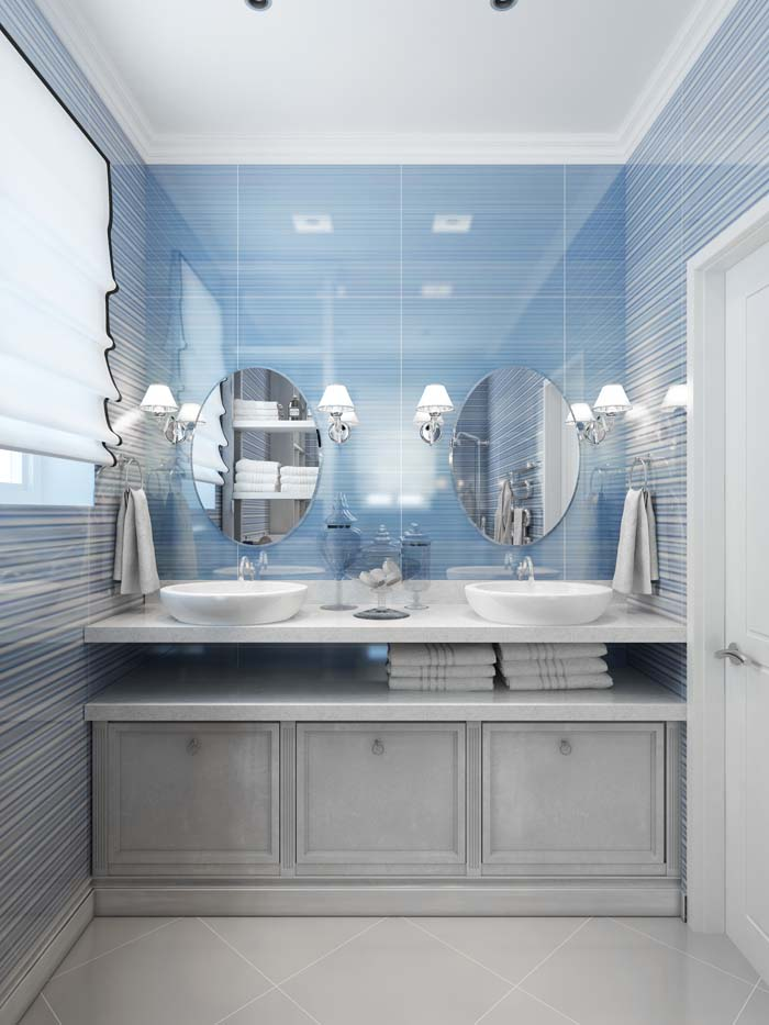 Pay Attention To The Scale Of Your Fixtures #tricks #smallbathroom #decorhomeideas