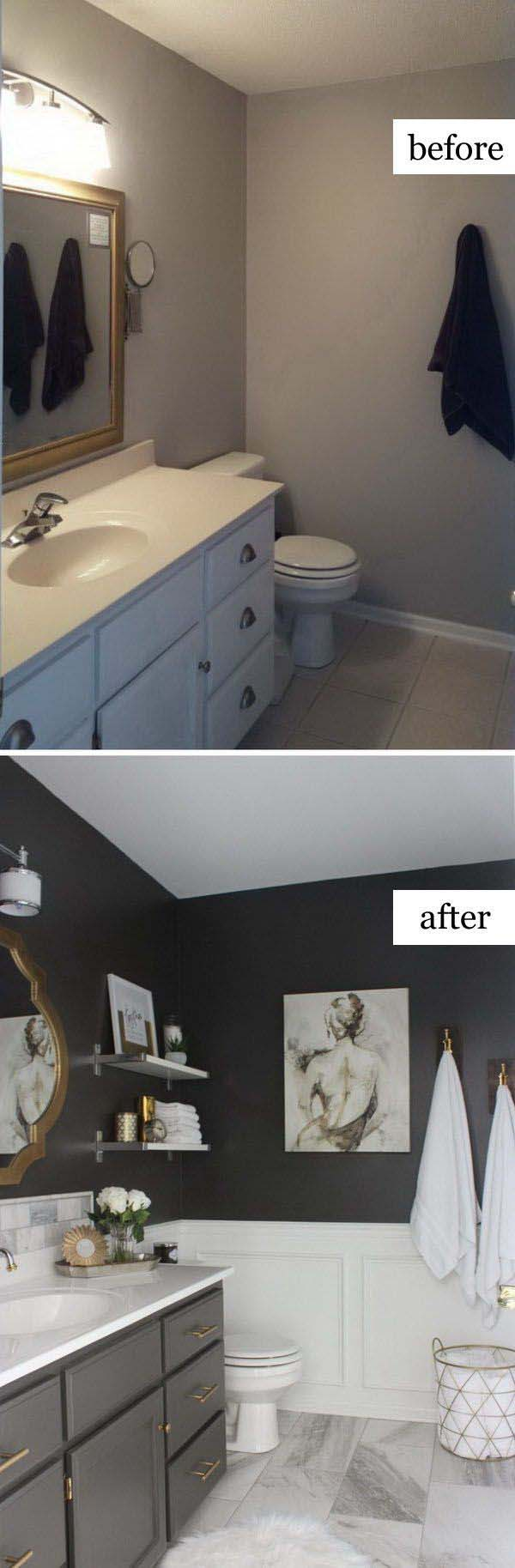 Total Transformation is Possible on a Budget #bathroom #makeover #decorhomeideas