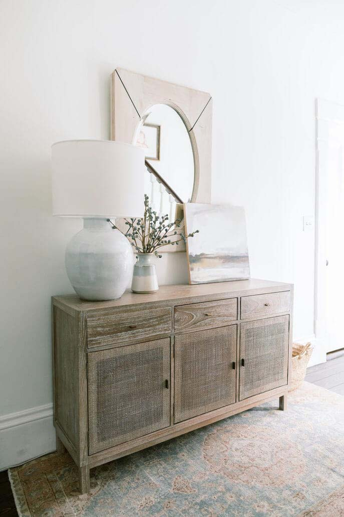 Totally Taupe Modern and Contemporary Entryway #rusticentryway #farmhouse #decor #decorhomeideas