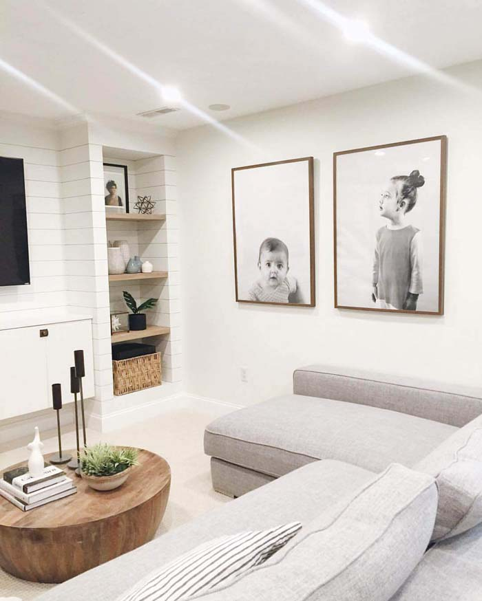 Big and Bold on the Wall #family #homedecor #decorhomeideas