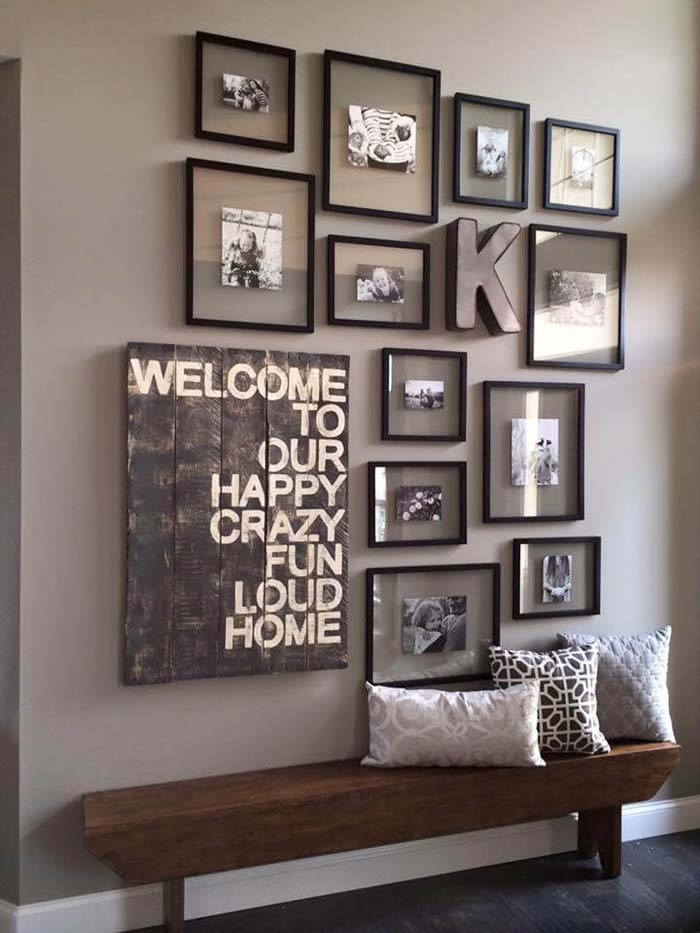 Capture the Caption with Floating Pictures #family #homedecor #decorhomeideas