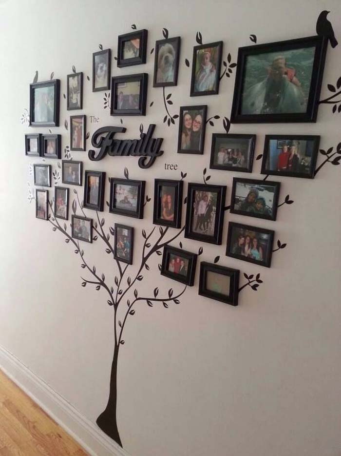 Family Tree Branches out and Blooms #family #homedecor #decorhomeideas