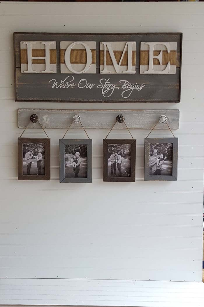 Hanging Home on a Hook #family #homedecor #decorhomeideas