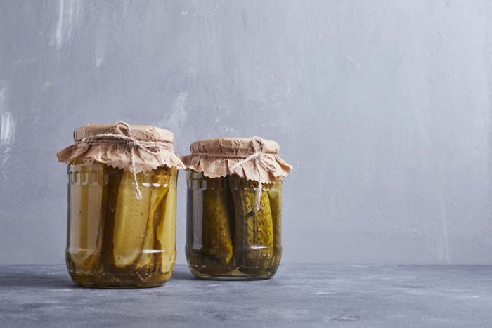 Pickle Jars #reusable #householditems #recycle #decorhomeideas