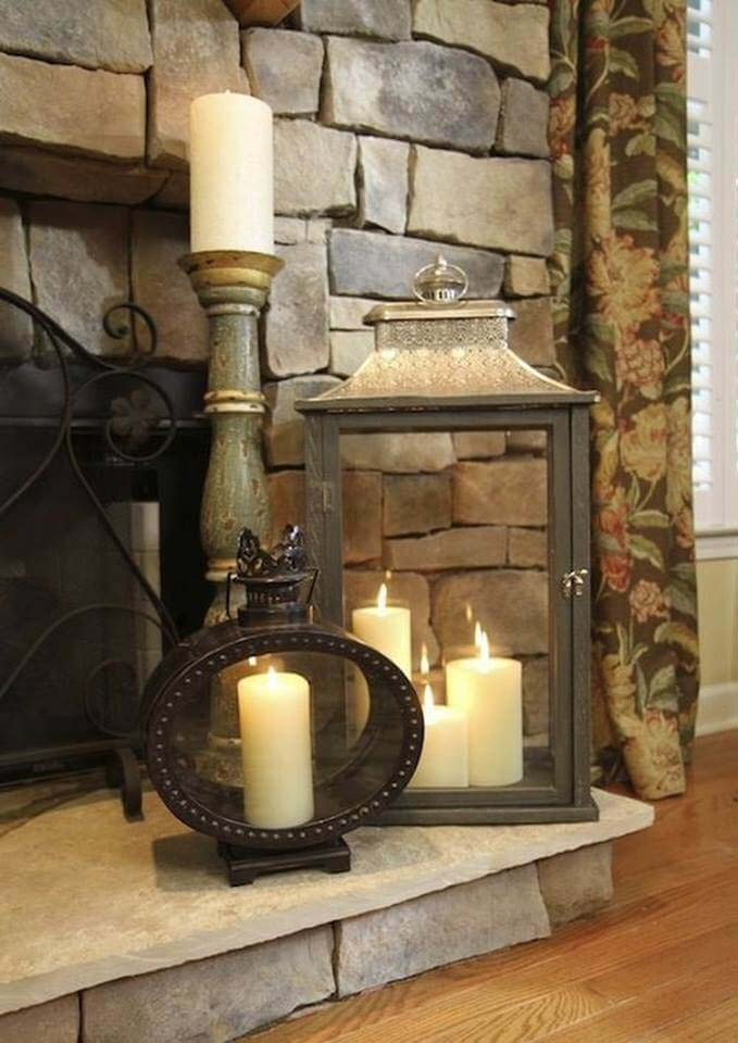 Decorating with Candle Ideas for Statement Lanterns #candledecorations #candles #homedecor #decorhomeideas