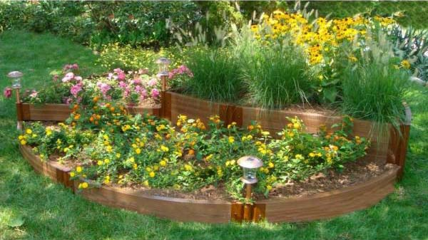 English Country Garden Raised Bed