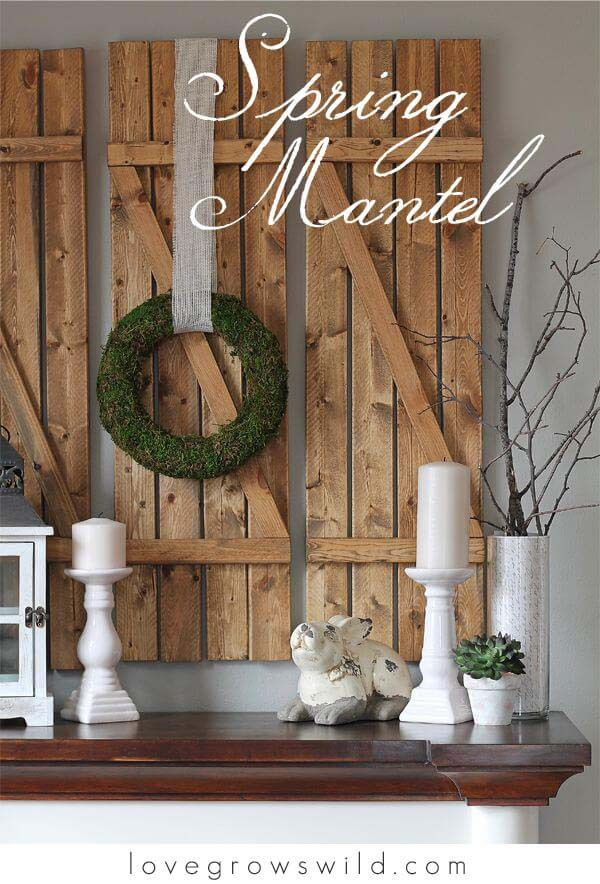How to Decorate with Spring Wreaths #farmhouse #walldecor #decorhomeideas
