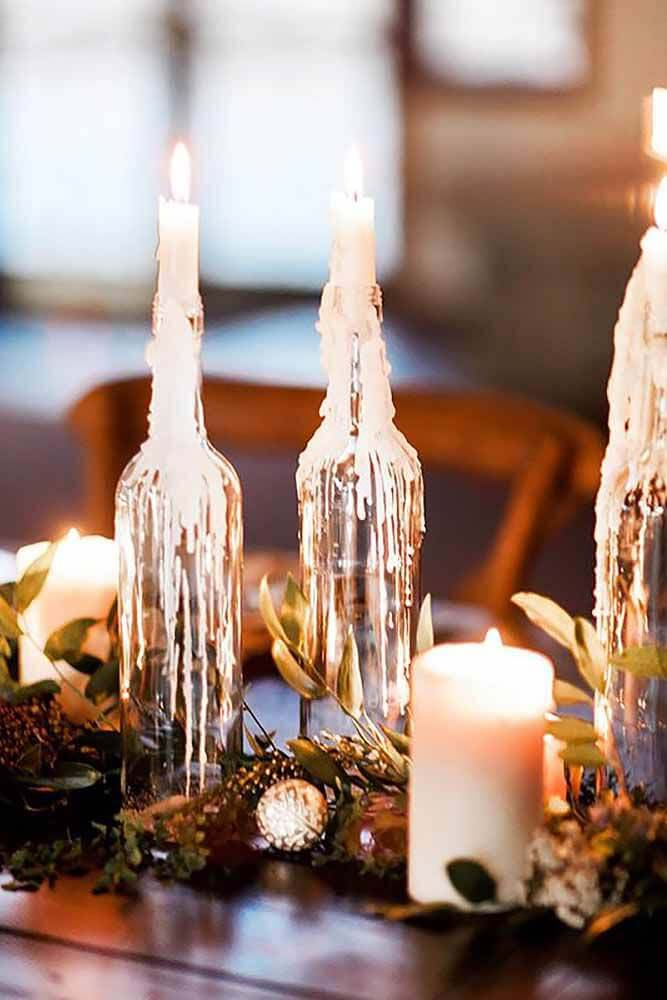 Winter Wonderland Icicle Tapers #candledecorations #candles #homedecor #decorhomeideas