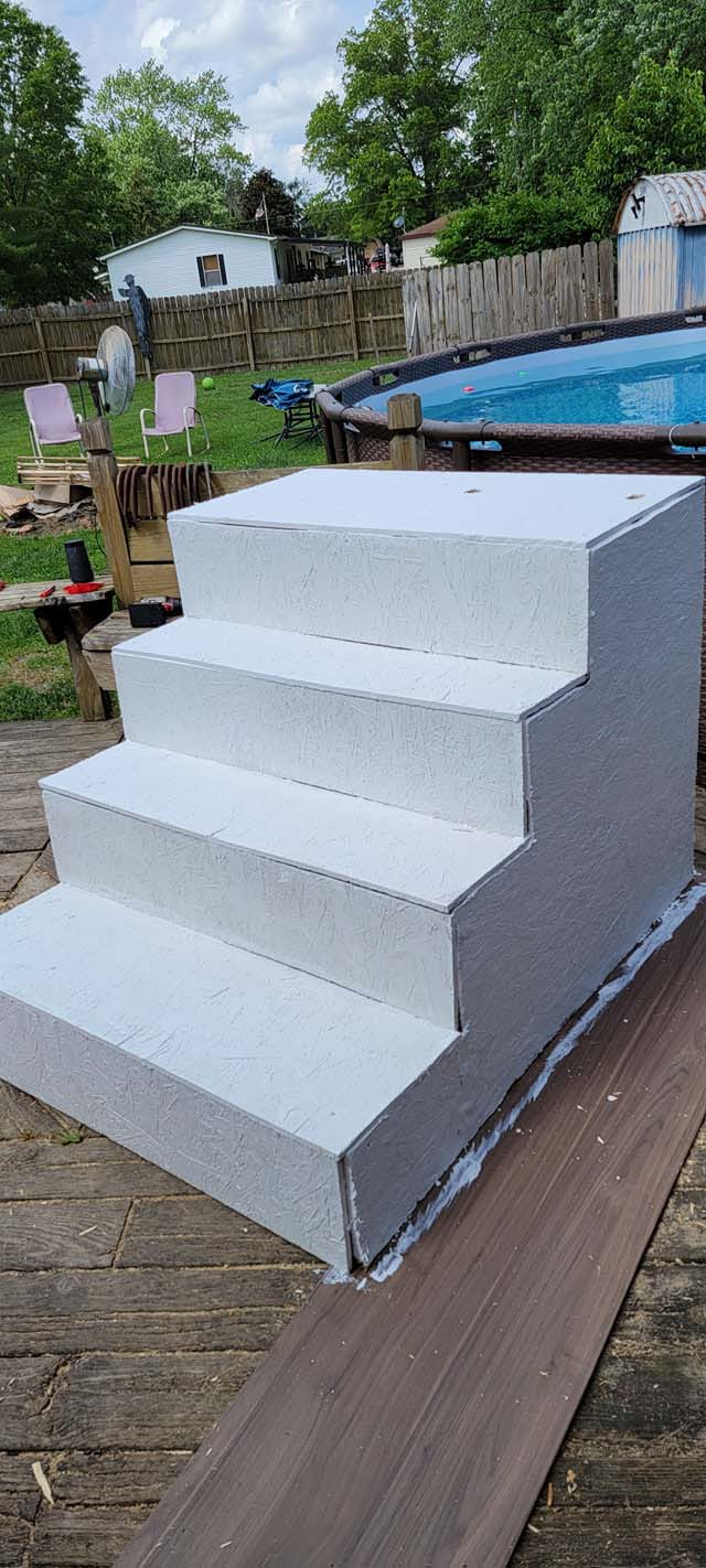 Above Ground Pool Steps 4