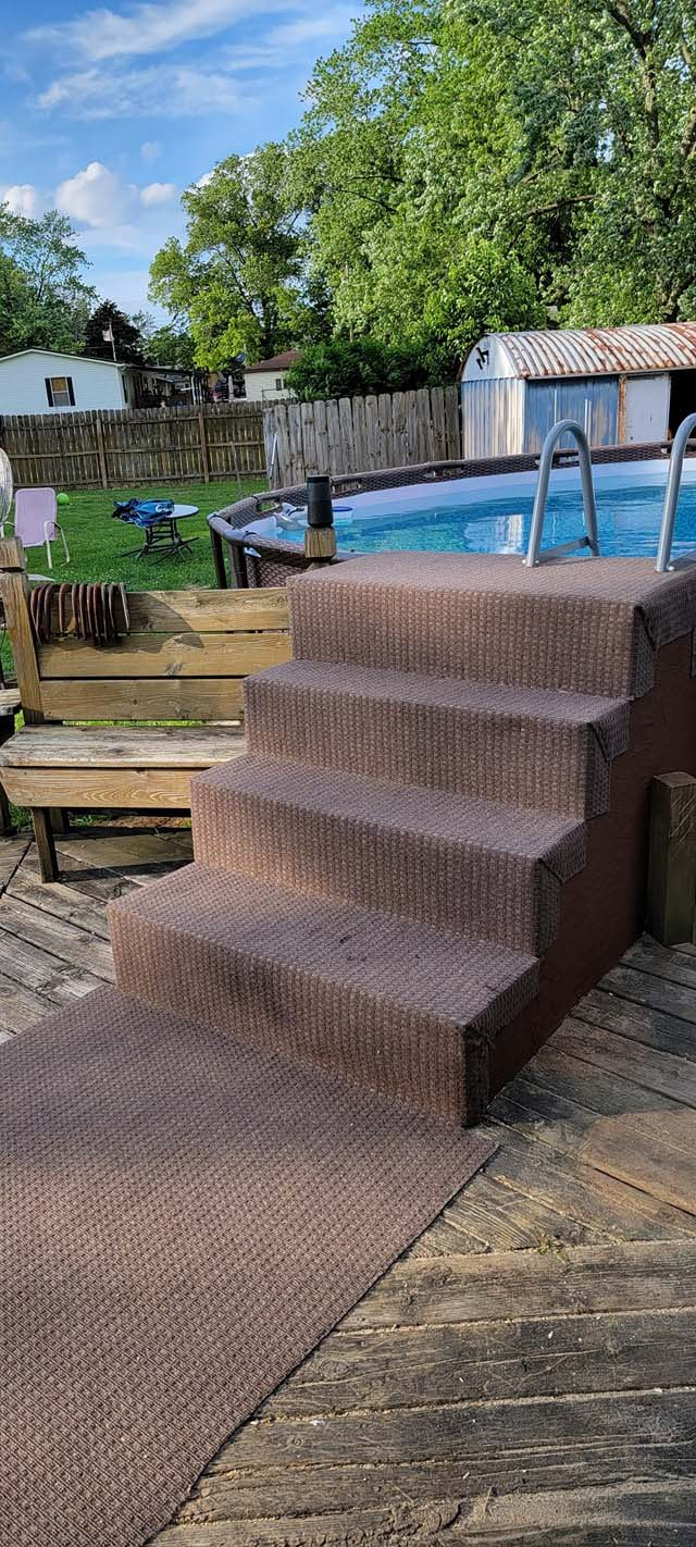 Above Ground Pool Steps 5