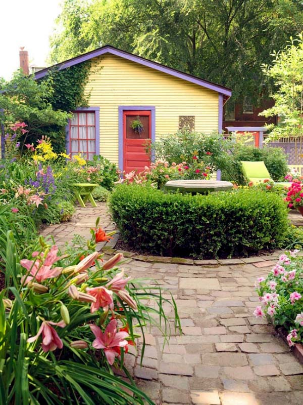 Country Garden for a Country Cottage #backyardlandscaping #decorhomeideas