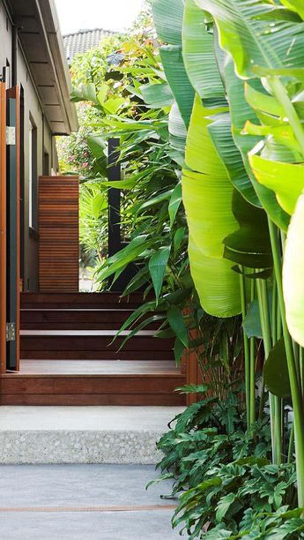 Modern Japanese Garden #sideyard #sidegarden #decorhomeideas