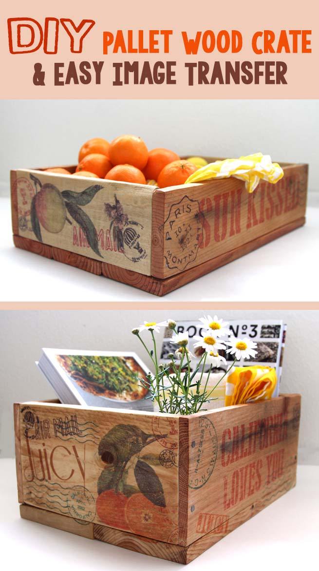 Tabletop DIY Wood Crate Projects #diywoodcrateprojects #diywoodcrateideas #decorhomeideas