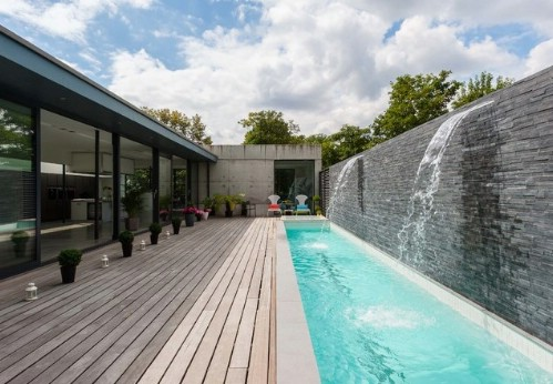 Think About Installing a Long Swimming Pool #poolhacks #diypool #decorhomeideas