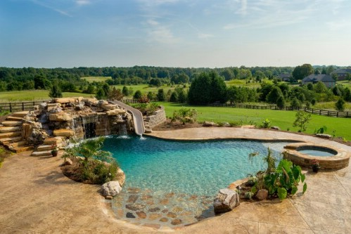 This Pool is Flat-Out Gorgeous #poolhacks #diypool #decorhomeideas