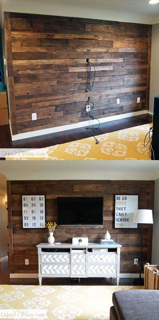 A Bare Wall Living Room Makeover #livingroommakeovers #decorhomeideas