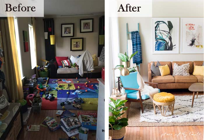 From Play Room to Living Room #livingroommakeovers #decorhomeideas