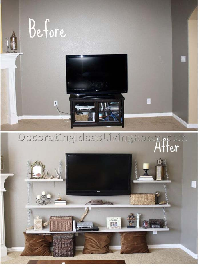 How to Create a Statement Wall #livingroommakeovers #decorhomeideas