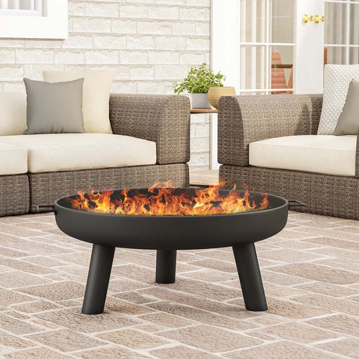 Inexpensive Wood Burning Outdoor Fire Pit