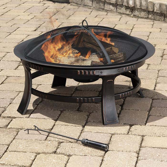 Steel Wood Burning Outdoor Cheap Fire Pit