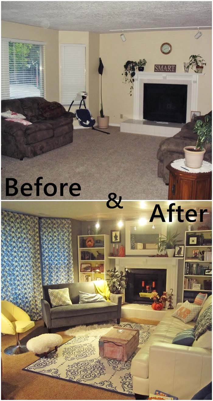 The Right Way to Mix Patterns #livingroommakeovers #decorhomeideas