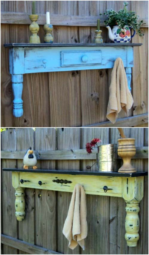 Upcycled Coffee Table Fence Dеcor #gardenfencedecoration #decorhomeideas