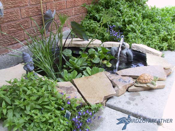 Charming Water Feature #diywaterfountain #decorhomeideas
