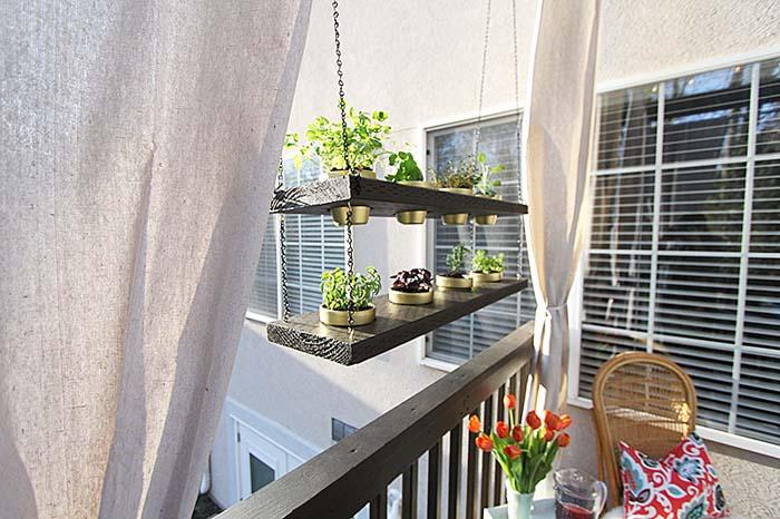 DIY Hanging Planter #balconygarden #decorhomeideas